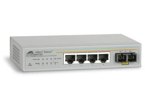 Коммутатор (switch) Allied Telesis AT-FS705EFC/SC-60, вид 1