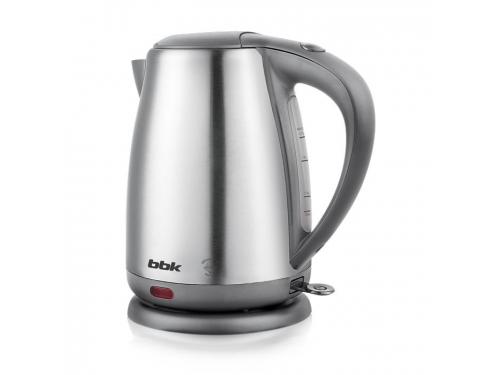 Чайник электрический BBK EK1706S , нержавеющая сталь-серый, вид 1