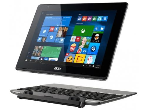 Планшет Acer Aspire Switch 10 2/64Gb WiFi С +докстанция SW5-014-1799, серый, вид 5