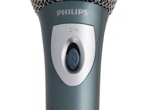 Микрофон мультимедийный Philips SBC MD150/00, моно, динамический, проводной, вид 2