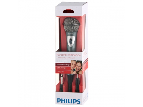 Микрофон мультимедийный Philips SBC MD150/00, моно, динамический, проводной, вид 4