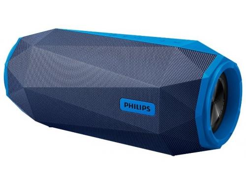 Портативная акустика Philips Shoqbox SB500A/00, синяя, вид 1