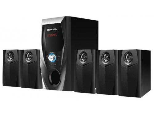 Компьютерная акустика Hyundai H-HA500 5.1 (колонки) черные, вид 1