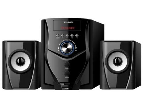 Компьютерная акустика Hyundai H-HA220 2.1 (колонки) черные, вид 1
