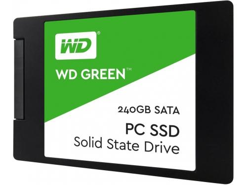 Жесткий диск WD Green WDS240G2G0A, ssd 240GB, вид 1