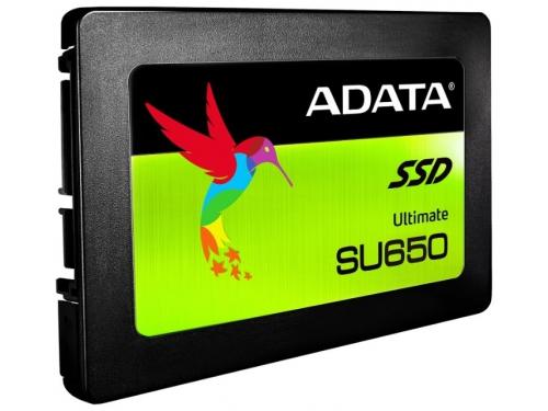 Жесткий диск SSD Adata Ultimate SU650 240Gb, SATA III, 2.5, вид 1
