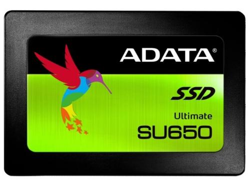 Жесткий диск SSD Adata Ultimate SU650 240Gb, SATA III, 2.5, вид 2