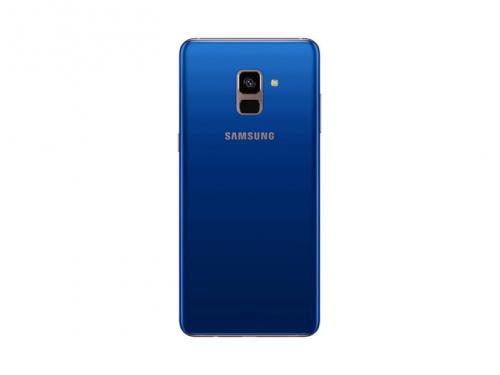 Смартфон Samsung Galaxy A8+ (2018) SM-A730, синий, вид 2