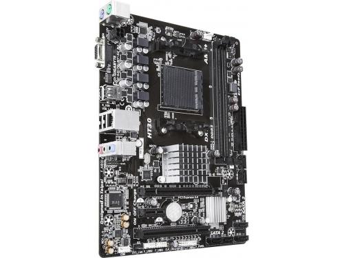 Материнская плата Gigabyte GA-78LMT-S2 R2 AM3+, AMD 760G , вид 2