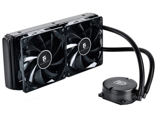 Кулер DeepCool MAELSTROM 240T, Red 150W DP-GS-H12RL-MS240T-RED, вид 1