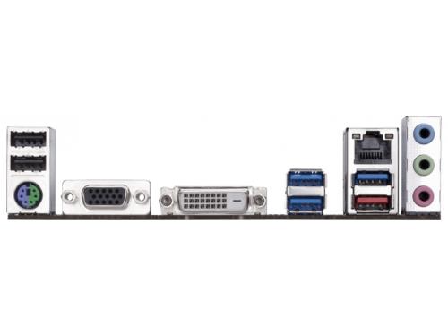 Материнская плата Gigabyte GA-AB350M-D3V Soc-AM4, AMD, mATX, DDR4, SATA 3, USB 3.0, вид 3