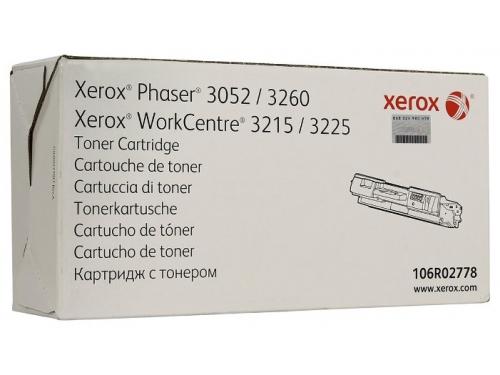 Картридж для принтера Xerox 106R02778, черный, вид 1
