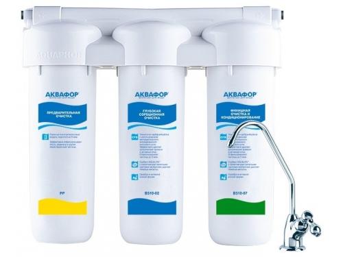 Фильтр для воды Аквафор ТРИО Норма, вид 1