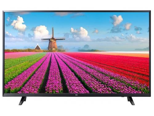 телевизор LG 55UJ620V, черный, вид 1