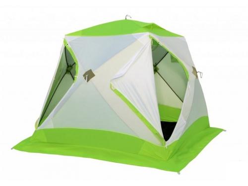 Палатка туристическая Лотос Куб Классик С9 для зимней рыбалки (стеклопластик), вид 1