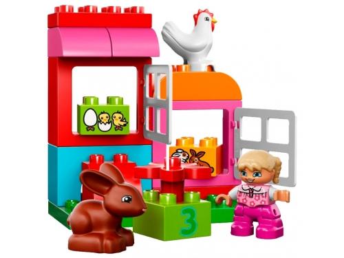 Конструктор LEGO Duplo 10571, Курочка и кролик, вид 1