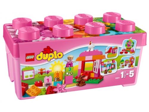 Конструктор LEGO Duplo 10571, Курочка и кролик, вид 5