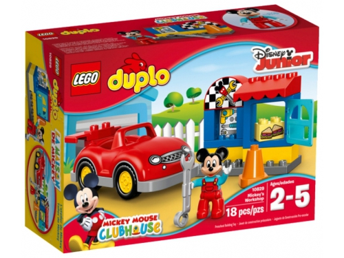 Конструктор LEGO Дупло 10829, Мастерская Микки, вид 2
