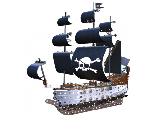 Конструктор Meccano STEM 14309 Пиратский корабль, вид 1