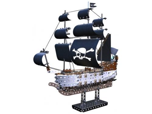 Конструктор Meccano STEM 14309 Пиратский корабль, вид 3
