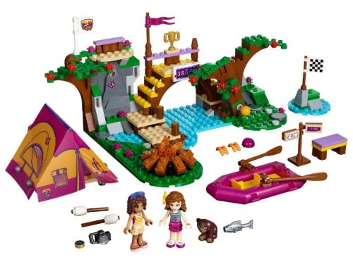 Конструктор LEGO Friends 41121, Спортивный лагерь: сплав по реке, вид 1