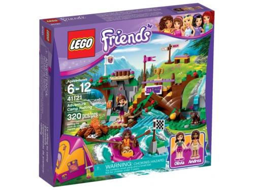 Конструктор LEGO Friends 41121, Спортивный лагерь: сплав по реке, вид 5