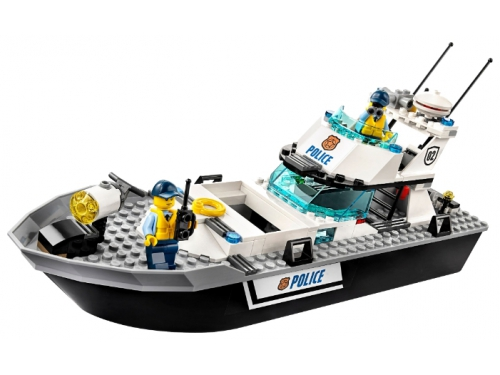 Конструктор LEGO City 60129, Полицейский патрульный катер, вид 1
