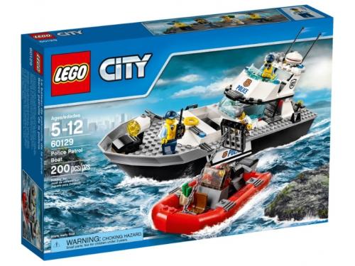 Конструктор LEGO City 60129, Полицейский патрульный катер, вид 5