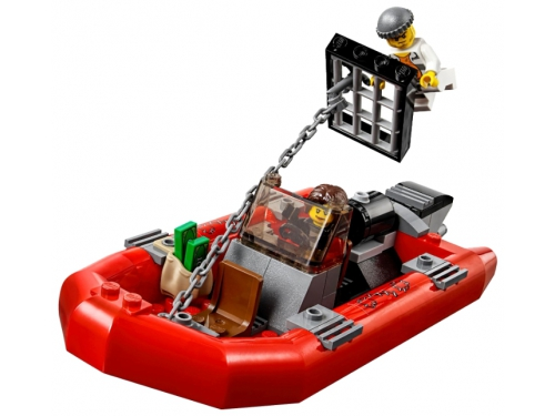 Конструктор LEGO City 60129, Полицейский патрульный катер, вид 2