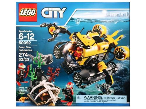 Конструктор LEGO Город 60092, Глубоководная подводная лодка, вид 2