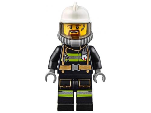 Конструктор LEGO City 60107, Пожарная машина с лестницей, вид 4