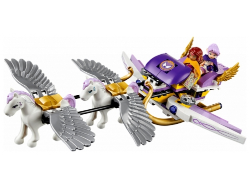Конструктор LEGO Эльфы 41077, Летающие сани Эйры, вид 4