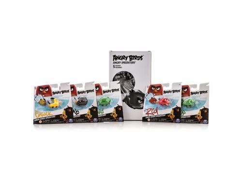 Набор игровой Angry Birds  5 птичек-машинок на колесах, вид 3