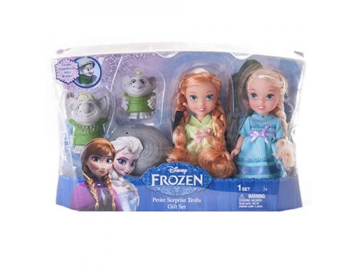 Набор игровой Disney Холодное Сердце принцессы Холодное Сердце (2 куклы 15 см и тролли), вид 3
