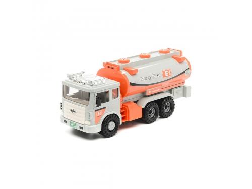 Товар для детей Daesung Max 965-1 бензовоз, белый / оранжевый, вид 1