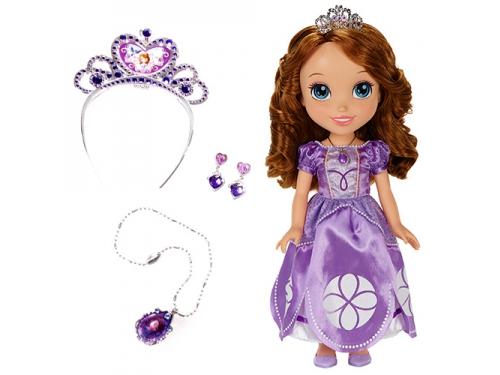 Кукла Disney Принцессы Дисней, София с украшениями для девочки, вид 1