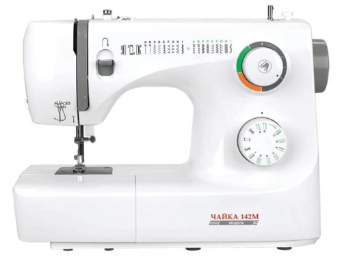 Швейная машина Чайка 142М, белая, вид 1