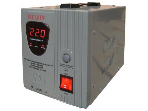 Стабилизатор напряжения РЕСАНТА АСН-2000/1-Ц, 2000 Вт, AVR, вид 3