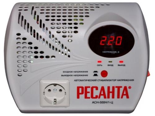 Стабилизатор напряжения РЕСАНТА АСН-500 Н/1-Ц, вид 2