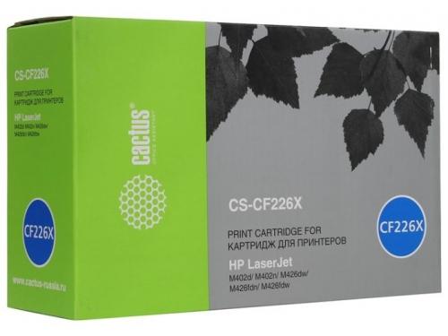 Картридж для принтера Cactus CS-CF226X, черный, вид 1