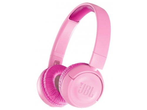 Наушники JBL JR300 BT, розовые, вид 1