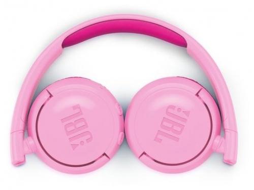 Наушники JBL JR300 BT, розовые, вид 3