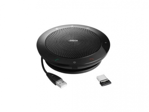 Проводной телефон Jabra SPEAK 510+ MS Bluetooth USB NC WB Link 360 MS, Спикерфон, вид 1
