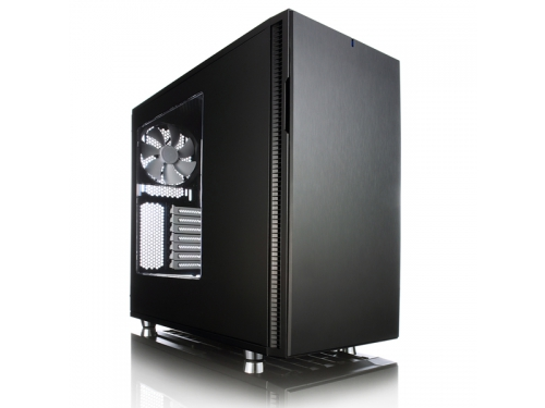 Корпус Fractal Design Define R5 Black Window w/o PSU FD-CA-DEF-R5-BK-W, вид 1