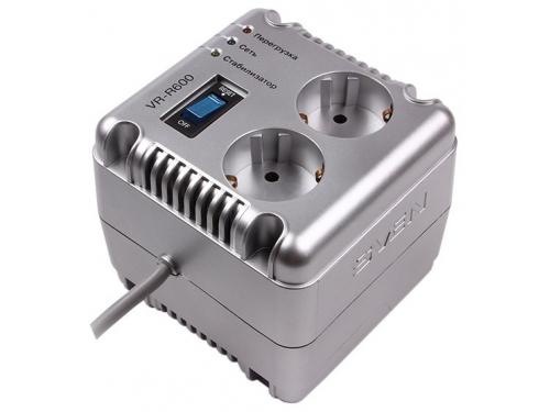 Стабилизатор напряжения Sven VR-R600, серый, вид 1