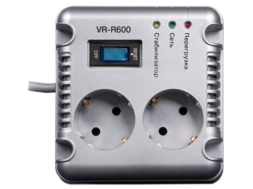 Стабилизатор напряжения Sven VR-R600, серый, вид 2