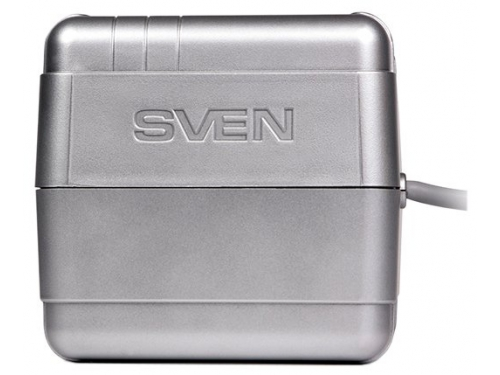 Стабилизатор напряжения Sven VR-R600, серый, вид 3