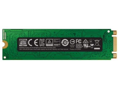 SSD-накопитель SSD Samsung MZ-N6E250BW 250Gb, M.2 2280, 860 EVO, вид 5