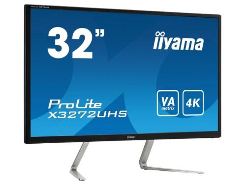 Монитор Iiyama X3272UHS-B1, черный, вид 1