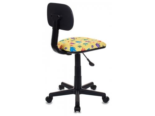 Компьютерное кресло Бюрократ CH-201NX/DINO-Y, динозавры на желтом, вид 2